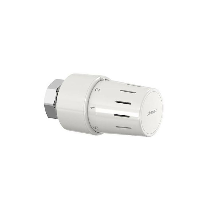 Głowica termostatyczna simplex tc-s3 m30x1,5 biała 35340